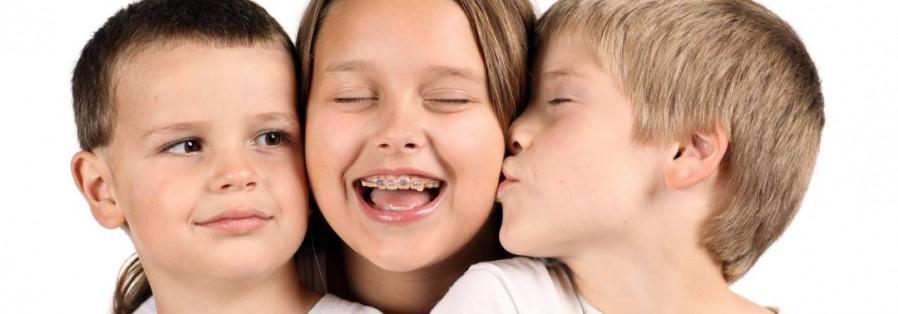 Zahnspangen für Kinder